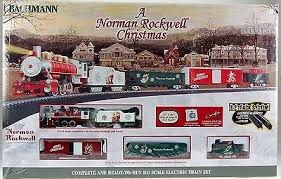 bachmann industries bac ho norman rockwell set