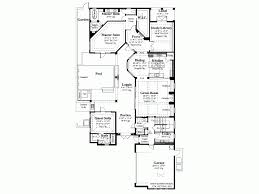 mediterranean floor plans with courtyard eplans mediterranean house plan courtyard luxury 3031 square