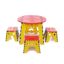 tavolo sedia bimbi tavolino e sgabelli set per bambini in abs