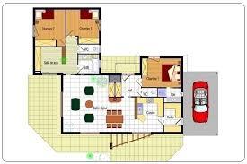 plan maison etage 4 chambres gratuit plan maison etage 4 chambres gratuit 18 plan maison moderne plain