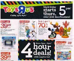 Toys R Us Thanksgiving Hours 2014 Toys R Us Black Friday Ad 2014