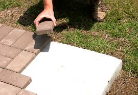 How To Install A Paver How To Properly Install 1 U2033 Pavers Over Concrete Lowcountry Paver