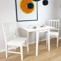 small white dining table dining sets dining tables and chairs dining and kitchen next day
