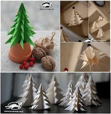 Where To Buy Christmas Tree Ornaments Diy Paper Christmas Tree To Decorate Your Rooms Buy Christmas