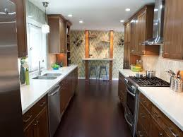 narrow galley kitchen design ideas kitchen small galley kitchen design ideas with wall mounted table