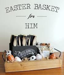 sports easter baskets unique easter treats for men evite