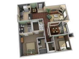 home design 35 one bedroom apartment layout design 3d 1000