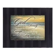 serenity prayer picture frame serenity prayer framed ebay