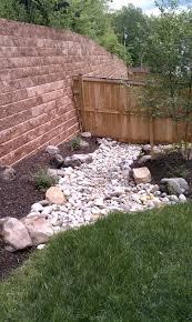using dry stream beds for drainage revolutionary gardens