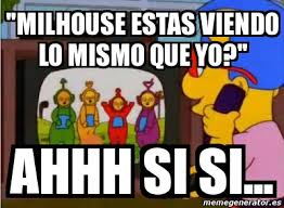 Millhouse Meme - meme personalizado milhouse estas viendo lo mismo que yo ahhh