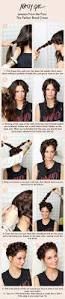 Quick Easy Hairstyles For Girls by 125 Best Cool Hair Tips Images On Pinterest Hairstyles Hairdos