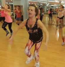 richard simmons is busy bedazzling and getting ready for his