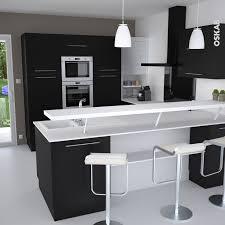dessus de comptoir de cuisine pas cher cuisine blanc comptoir noir plan de travail cuisine moderne en