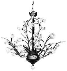 Lighting Chandeliers Modern Julia 4 Light Crystal Chandelier Modern And Contemporary Modern