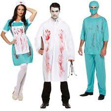 Bloody Nurse Halloween Costume Nurse Apron Ebay