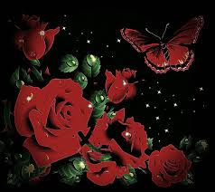 roses butterfly by meganlula on deviantart