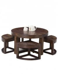 coffee table and stool set tables stool sheesham round table with stools set of 5 online