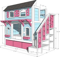 bed room the 2d design ideas of bunk bed with pink love stairs