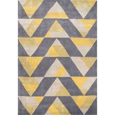 Chevron Print Area Rugs by A Dynamic Geometric Design Of Repeating Triangles Gives This Rug