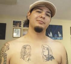 jesus on chest tattoos book 65 000 tattoos