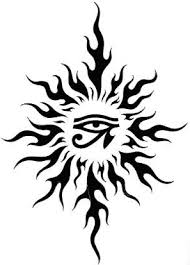 46 most amazing tribal sun designs patterns