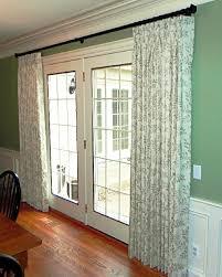 Patio Door Curtain Rod Best 25 Patio Door Curtains Ideas On Pinterest Sliding Door With