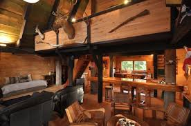 Log Homes Interior Designs Log Cabin Bathroom Ideas Hunting Cabin Interior Design Ideas
