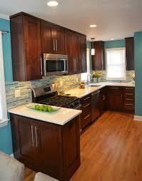 electric blue kitchen cabinets electric blue kitchen modern kitchen dc metro by rjk
