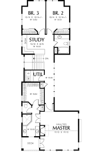 house plans for narrow lots unique 2 narrow lot plan 69090am architectural designs