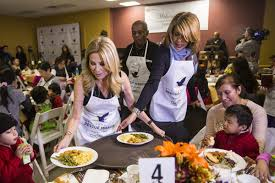 the nyc rescue mission thanksgiving banquet 2015 kathie gifford