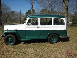 willys jeep truck willys jeep station wagon 27 686 right miles mint condition