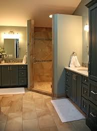 decorative custom master bathroom designs using beadboard panel
