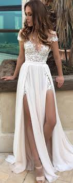white lace prom dress best 25 floral prom dresses ideas on homecoming
