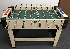 Amazon Foosball Table Amazon Com Rainforest Foosball Table 48 Inch Sports U0026 Outdoors