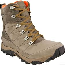 the north face men s chilkat ii winter boots mudpack brown mount