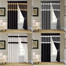 Silk Draperies Ready Made Opulence Faux Silk Curtains Ready Made Pencil Pleat Tc300 With Tie