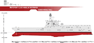 whitepoint class modular destroyer guided missile by afterskies