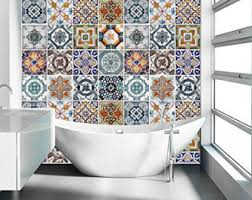 tile decals for kitchen backsplash staircase with portuguese tiles patterns pack nº2 24 tile
