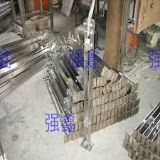freeshipping 1050mm customize 304 stainless steel stair guardrail