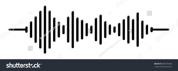 audio wave sound wave stock vector 683729356 shutterstock