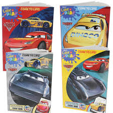 wholesale disney pixar cars coloring book asst 27866