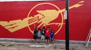 Flag Of Burma West Side Mural Honors Buffalo U0027s Burmese Community U2013 The Buffalo News