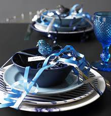 Christmas Table Decorations Blue And Silver by Home Christmas Decoration Christmas Decoration Ideas Theme