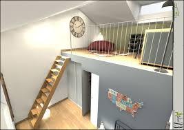 mezzanine dans une chambre chambre loft falk