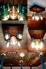 Repurposing Old Chandeliers 30 Delicate Projects That Repurpose Old Glass Insulators