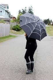 diy spiderweb umbrella