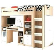 lit mezzanine avec bureau intégré lit mezzanine 1 place bureau integre lit mezzanine avec bureau