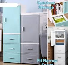 narrow storage cabinet for kitchen new slim storage cabinet plastic drawer kitchen bathroom shelves organizer sy13511 3 tier sy13521 4 tier sy23521 5 tier sy23531 6 tier