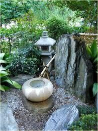 japanese zen garden water interior design