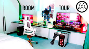 mind blowing 30 000 gaming room tour 2017 youtube